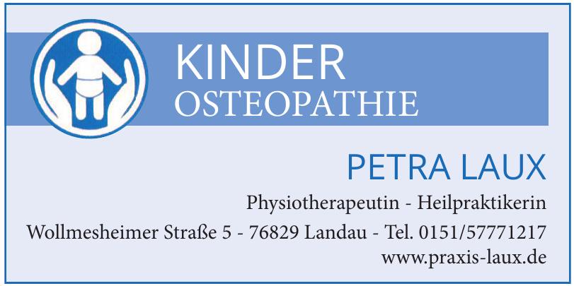 Kinder Osteopathie Petra Laux