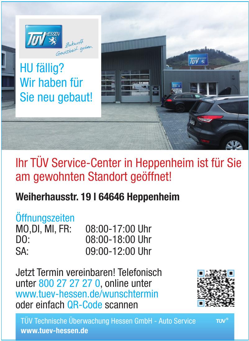 TÜV Technische Überwachung Hessen GmbH