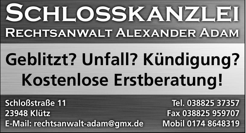Rechtsanwalt Alexander Adam