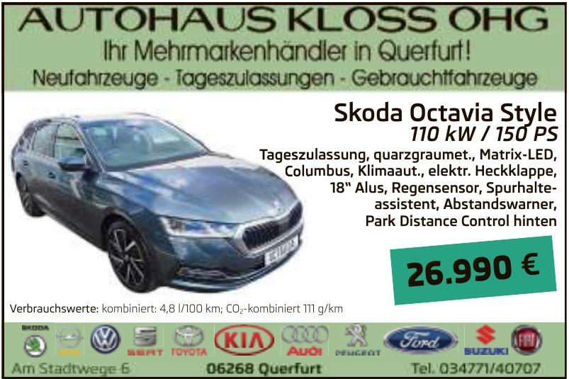 Autohaus Kloss OHG