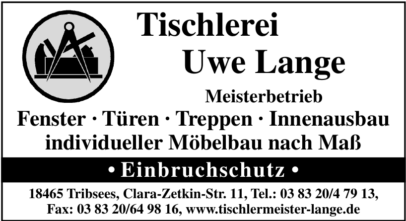Tischlerei Uwe Lange