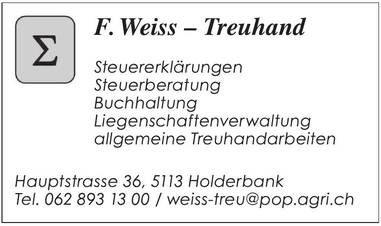F. Weiss - Treuhand