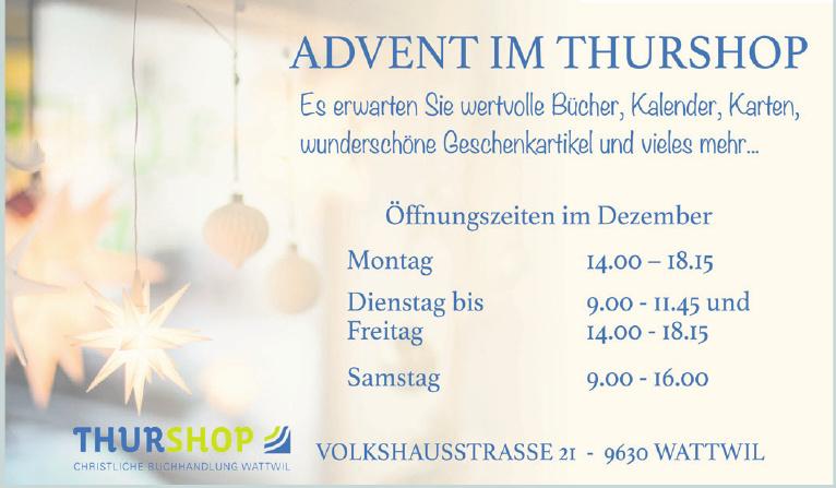 Christliche Buchhandlung Thurshop