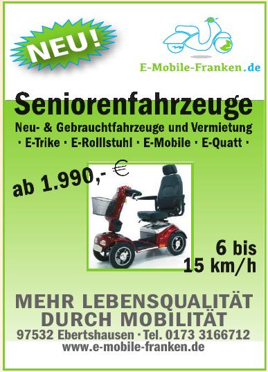 E-mobile Franken