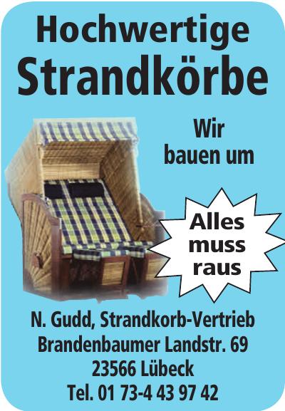N. Gudd Strandkorb-Vertrieb