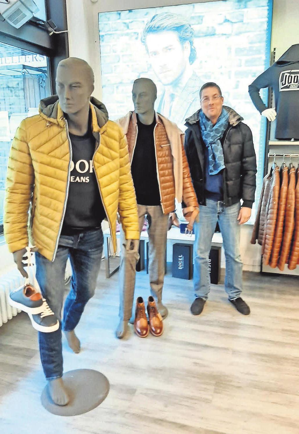 Matheja steht für hochwertige Markenkleidung für Herren.