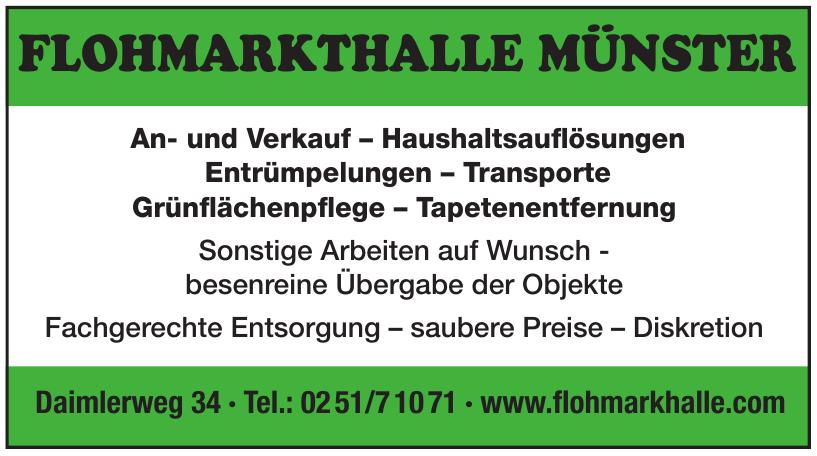 Flöhmarkthalle Münster