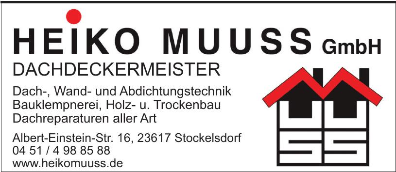 Heiko Muuss GmbH Dachdeckermeister