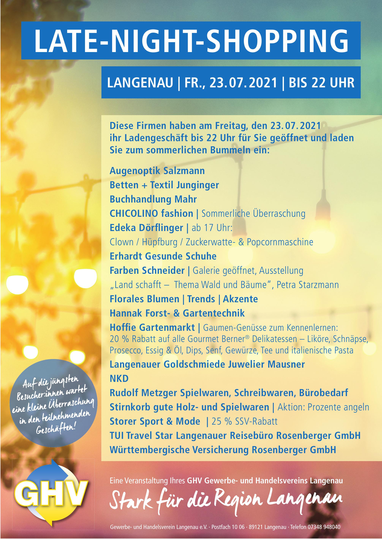 Gewerbe- und Handelsverein Langenau e. V.