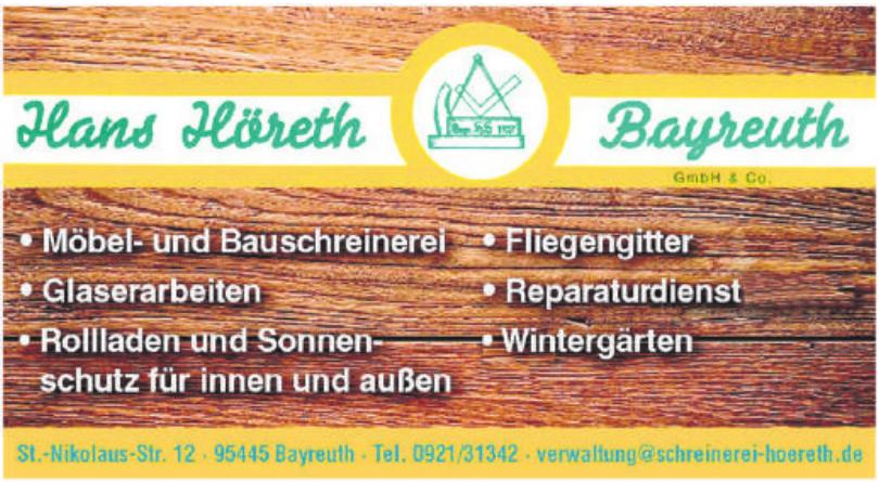 Hanz Höreth Bayreuth GmbH & Co.