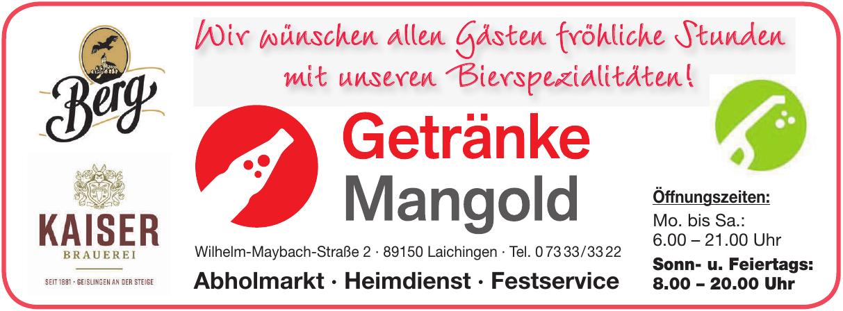 Getränke Mangold