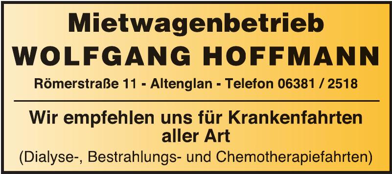 Mietwagenbetrieb Wolfgang Hoffmann
