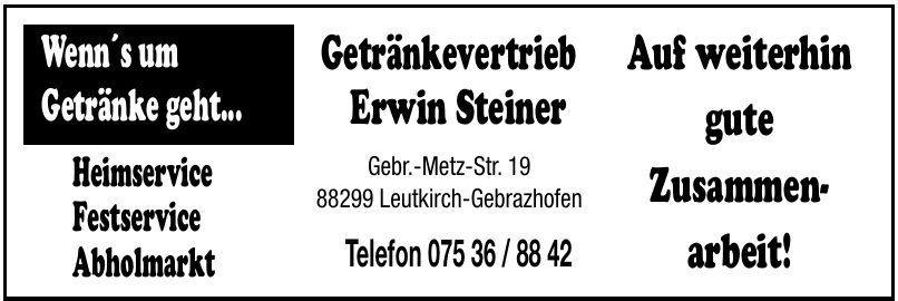 Getränkevertrieb Erwin Steiner