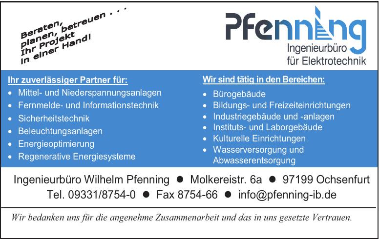 Ingenieurbüro Wilhelm Pfenning