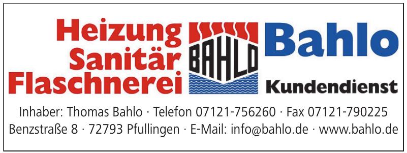 Bahlo Kundendienst