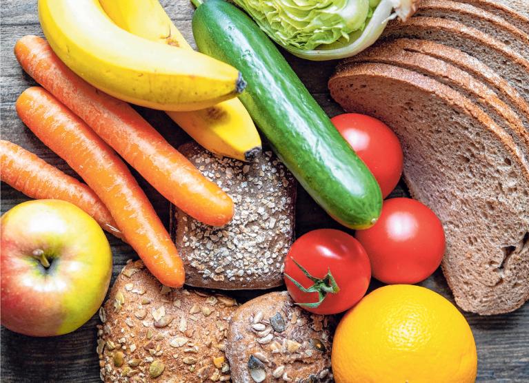 So könnte gesunde Ernährung aussehen. FOTO: ROBERT GÜNTHER