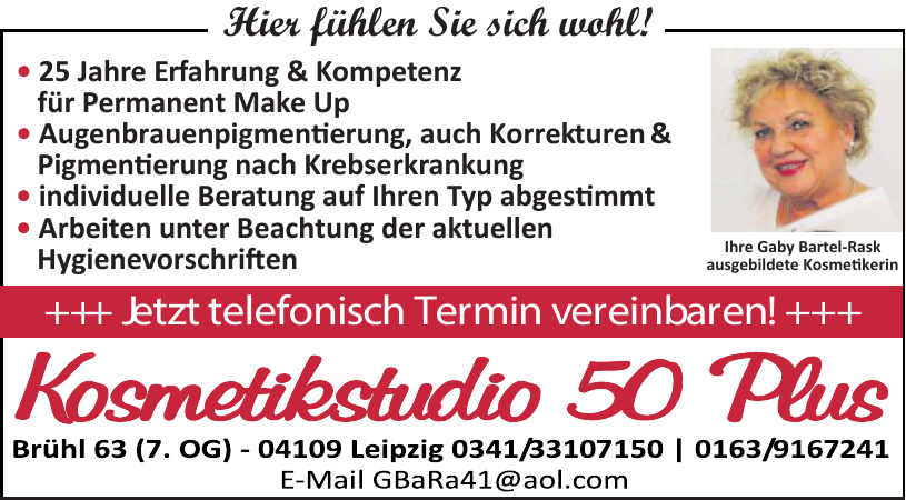 Kosmetikstudio 50 Plus