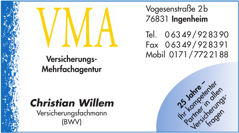 Versicherungs-Mehrfachagentur Christian Willem