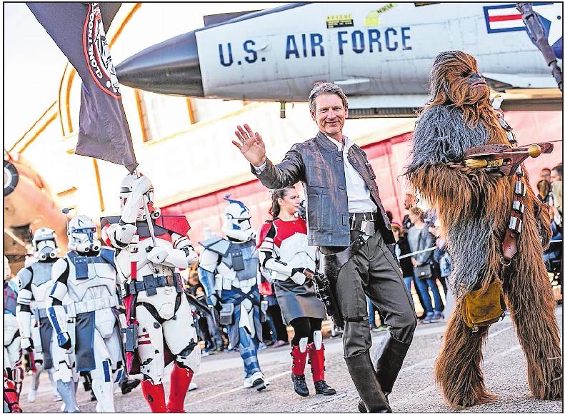 Toll kostümiert: Parade beim Sci-Fi-Treffen.Foto: Technik-Museum/frei