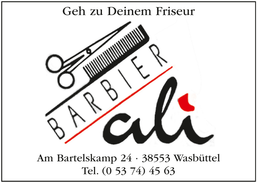 Barbier ali