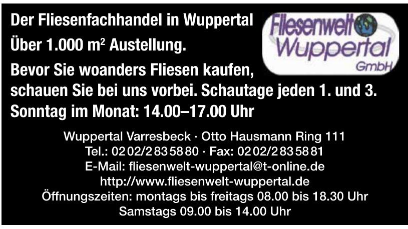 Fliesenwelt Wuppertal GmbH