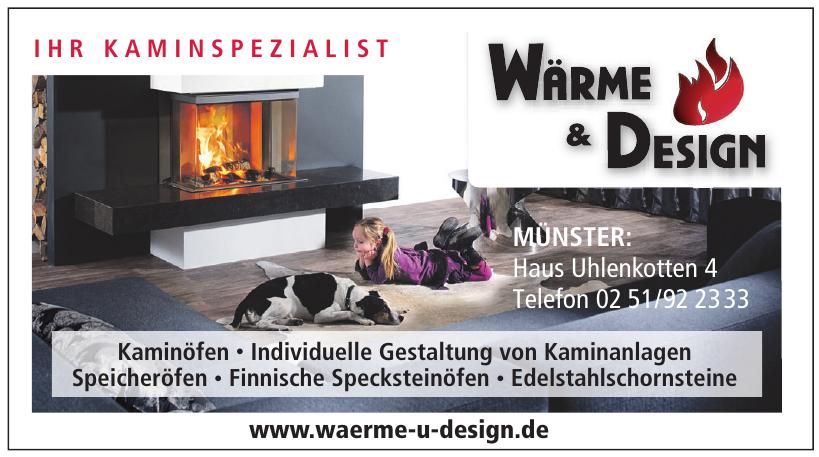 Wärme & Design  Kamin- und Kachelofenbau GmbH