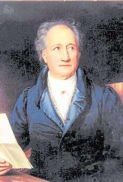 6 Johann Wolfgang von Goethe Foto: Stiftung Weimarer Klassik