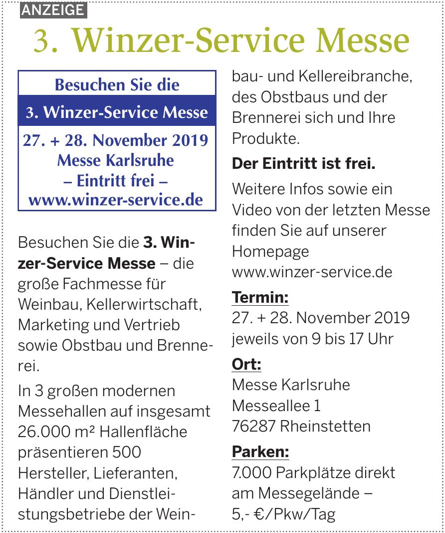 Winzer-Service