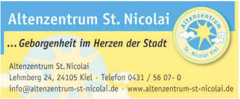 Diakonie Altholstein - Altenzentrum St. Nicolai