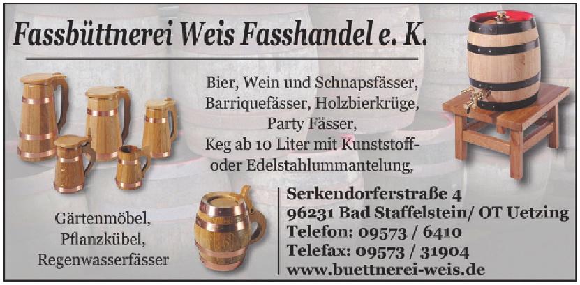 Fassbüttnerei Weis Fasshandel e.K.