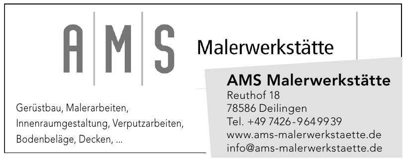 AMS Malerwerkstätte