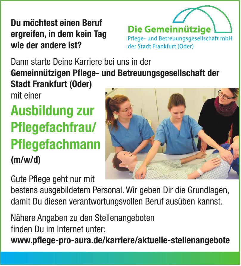 Die Gemeinnützige Pflege- und Betreuungsgesellschaft mbH der Stadt Frankfurt (Oder)
