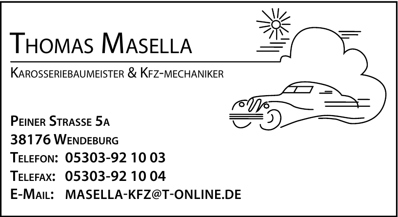 Thomas Masella Karosseriebaumeister & KFZ-Mechaniker