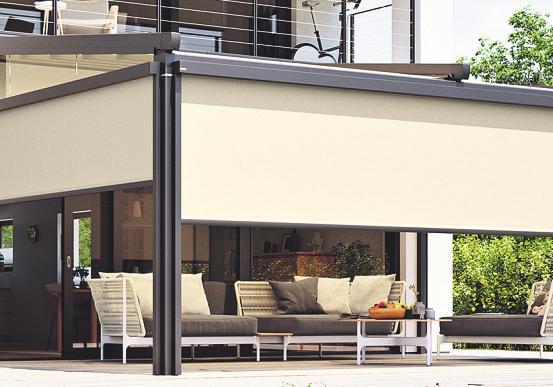 Senkrecht-Markisen verleihen Fassaden eine moderne Optik – Das sind die Vorteile Image 3