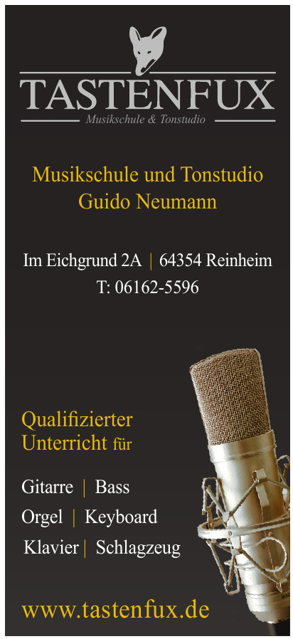 Tastenfux Musikschule & Tonstudio