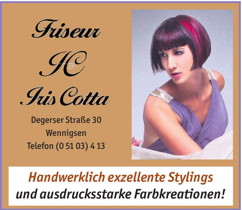 Friseur IC Iris Cotta