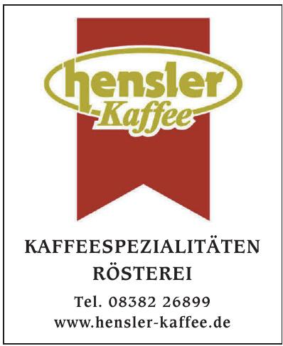 Hensler Kaffee