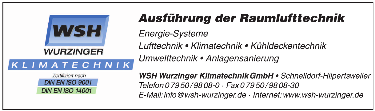 WSH Wurzinger Klimatechnik GmbH