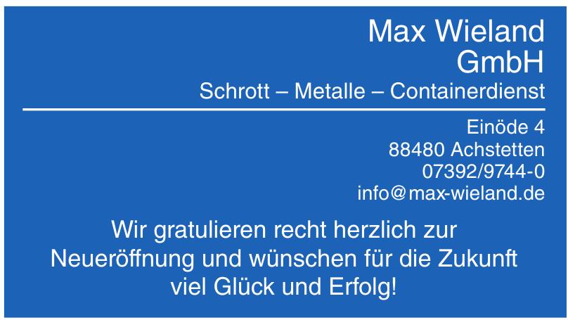 Max Wieland GmbH