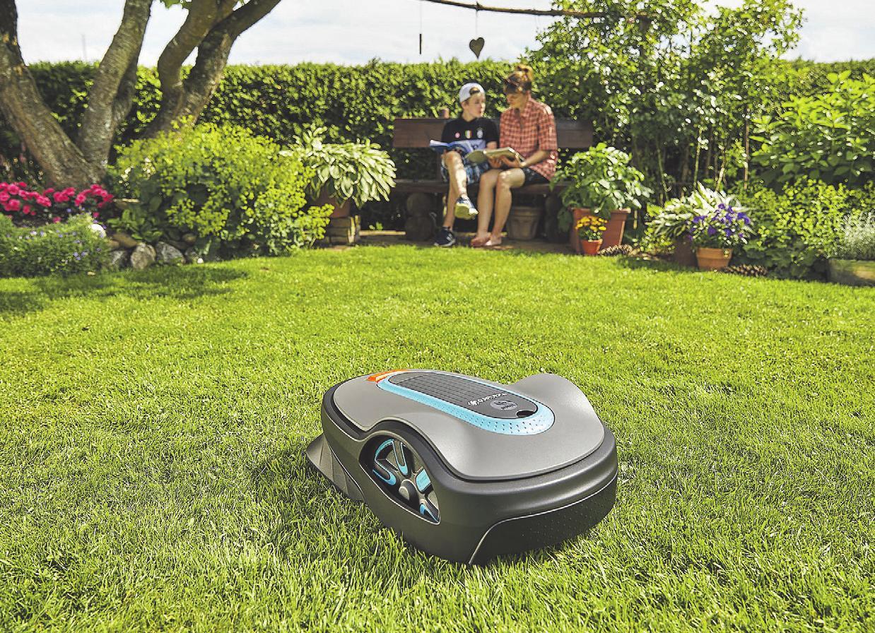 Der Mähroboter sorgt zudem für Entspannung bei seinen Besitzern. Weitere Informationen dazu gibt es auf der FLAIR AM MEER.