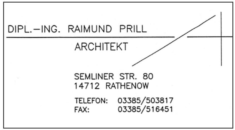 Raimund Architekt Prill