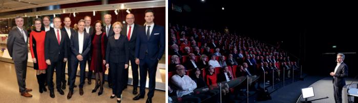 Der Internationale Freundeskreis Wolfsburg e.V. (IFK) begrüßte im Januar rund 250 Gäste zu seinem traditionellen Neujahrsempfang in der Autostadt.