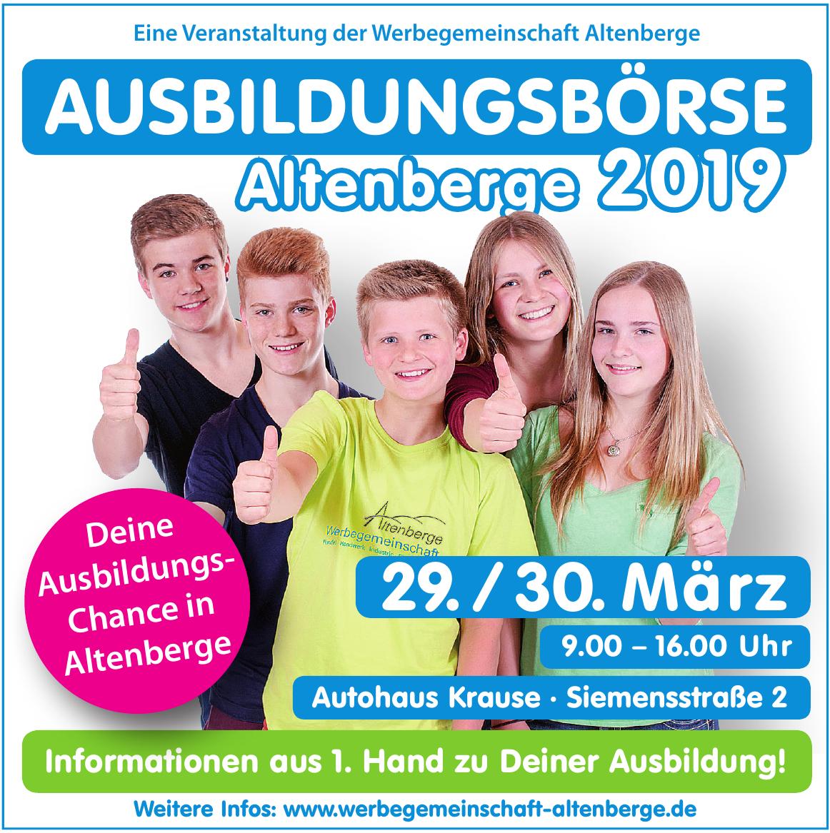 Ausbildungsbörse Altenberge 2019