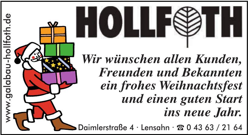 Bernd Hollfoth Garten- und Landschaftsbau