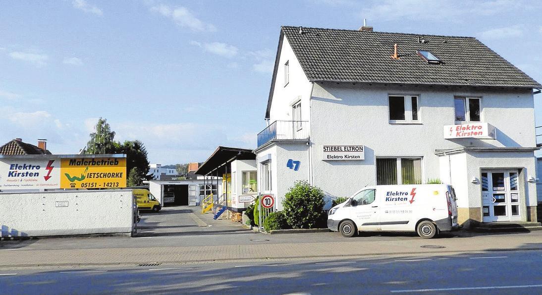 Firmensitz von Elektro Kirsten: Reimerdeskamp 47 Foto: pr