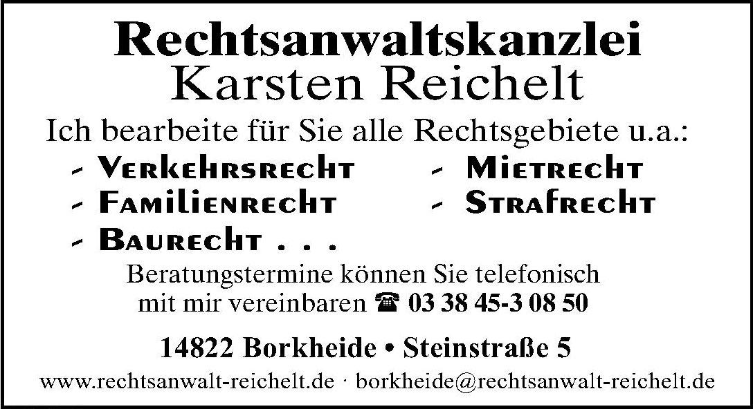 Rechtsanwaltskanzlei Karsten Reichelt