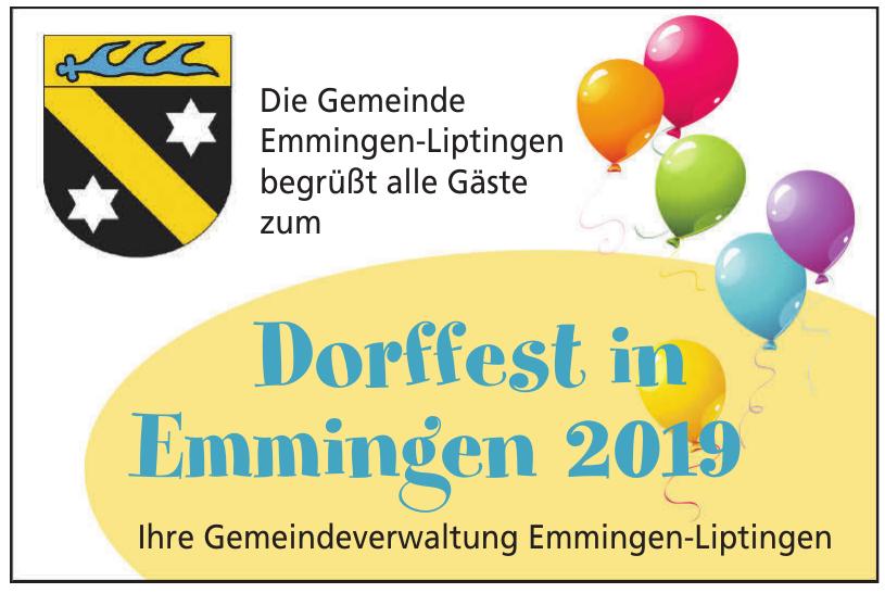 Gemeindeverwaltung Emmingen-Liptingen