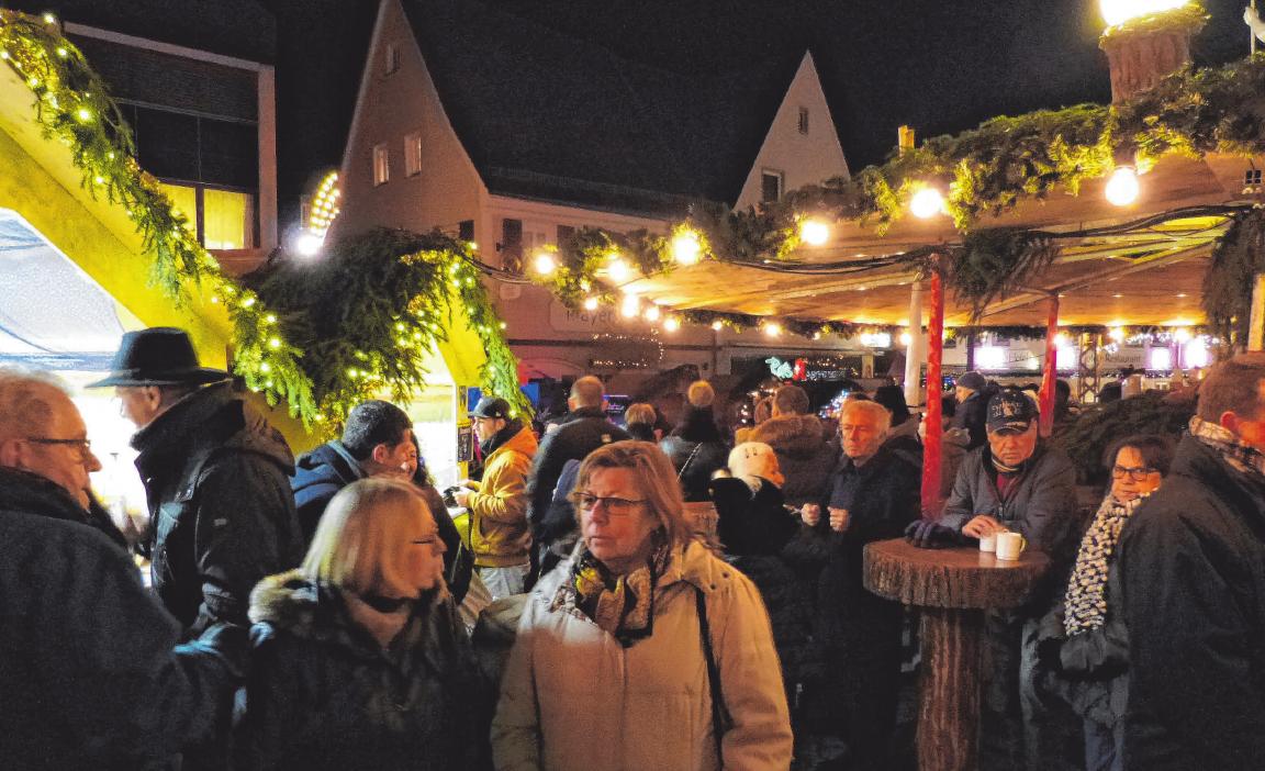 Der Nikolausmarkt lockt stets zahlreiche Besucher an.