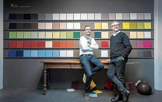 Werte neu entdecken, annehmen, positiv interpretieren – für Die2Maler. Ayhan Savasogan und Clemens Schönack nicht altmodisch, sondern Zukunft. FOTO: PEPE LANGE
