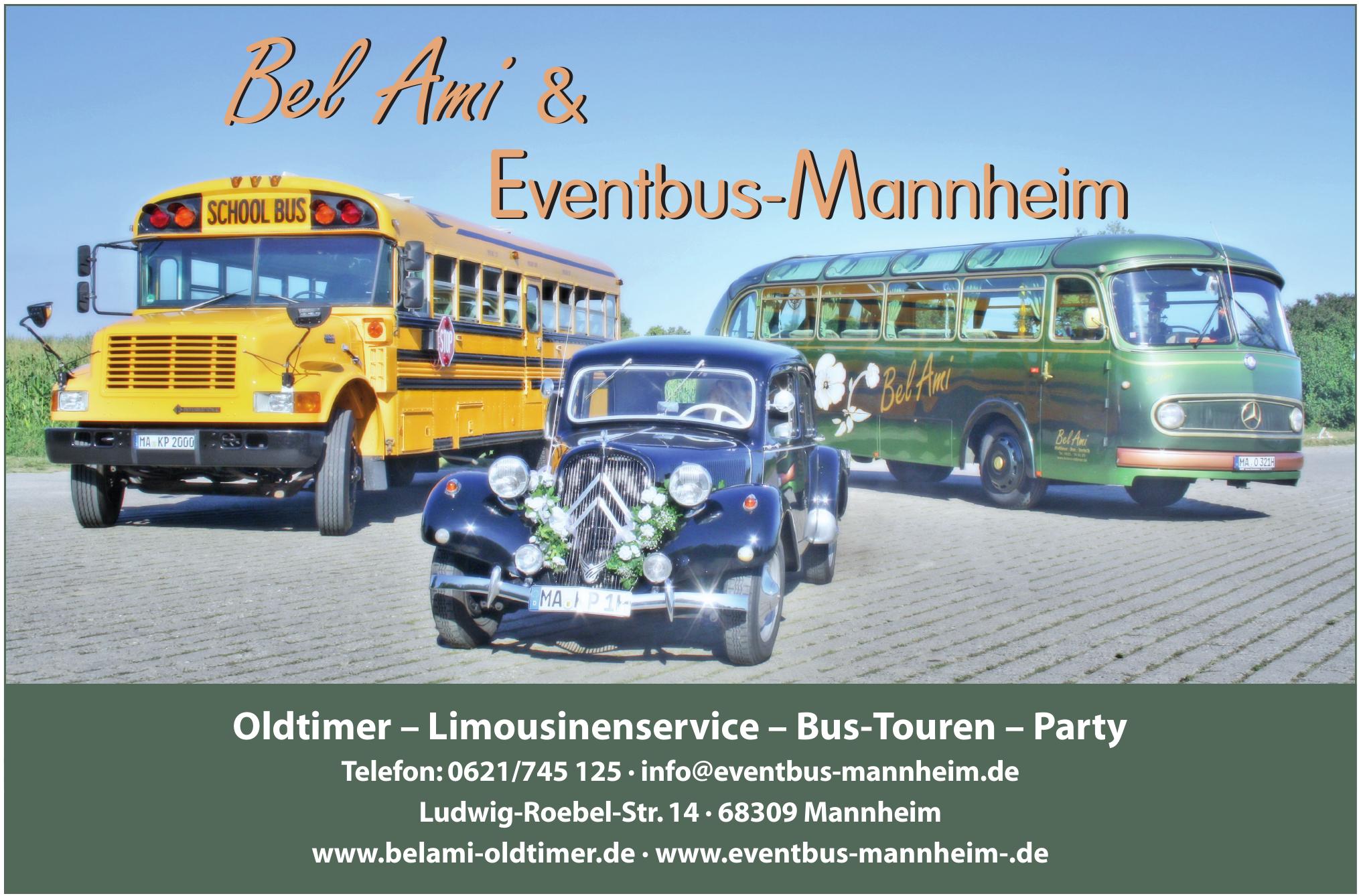 Bel Ami & Eventbus-Mannheim